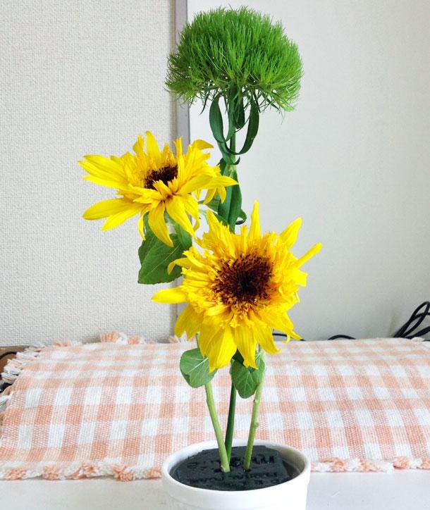 花とパワーストーン